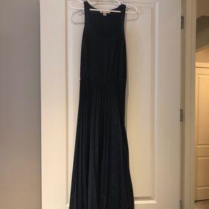 Michael Kors navy maxi dress